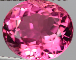 3.79CT 10X9MM Rubellite Mozambique tourmaline AAA Excellent cut -PTA343