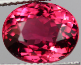 4.30 CT Rubellite Mozambique tourmaline AAA Excellent cut -PTA345