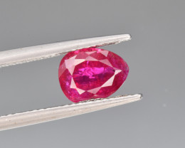 GIA Natural ruby 1.85 Cts Top Quality from Afghanistan