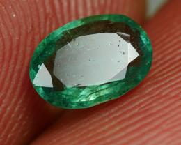 0.630CRT GREEN BERYL EMERALD ZAMBIA -