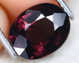 Red Spinel 1.85Ct VS2 Oval Cut Natural Red Spinel A2014