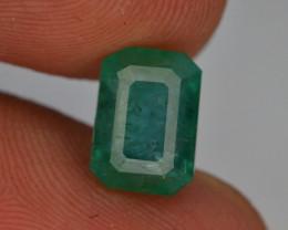 Top Color 2.60 ct Vivid Green Emerald~Afghanistan