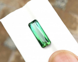 5.10 Ct Natural Greenish Blue Transparent Tourmaline Gemstone