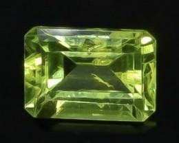 1.10 Crt  Peridot Faceted Gemstone (Rk-97)