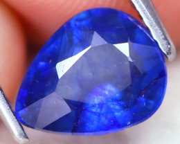Blue Sapphire  1.98Ct Pear Cut Royal Blue Sapphire B2111
