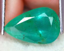 Zambian Emerald 2.39Ct Pear Cut Natural Green Color Zambian Emerald B2114