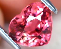 Pink Tourmaline 1.15Ct Heart Cut Natural Pink Tourmaline C2103