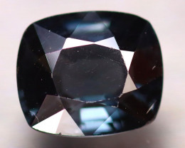 Spinel 2.58Ct Mogok Spinel Natural Burmese Titanium Blue Spinel D2604/A12