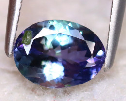 Tanzanite 1.12Ct Natural VVS Purplish Blue Tanzanite DF2628/D3