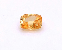 GIA Certified Unheated Yellow Sapphire, 1.10 Carats Loose Untreated Natural