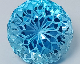 13.45 Ct Natural Topaz Excellent Precision Cut Top Luster Gemstone.TPF 03