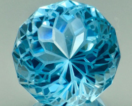 7.95 Ct Natural Topaz Excellent Precision Cut Top Luster Gemstone. TPF 04