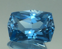 8.80 Ct Natural Topaz Excellent Cutting Top Luster Gemstone. TPF 07