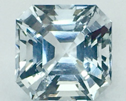 7.95 Ct Aquamarine Exc Asscher Cut AAA Quality From Pakistan.AQF 02