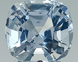 9.55 Ct Aquamarine Exc Asscher Cut AAA Quality From Pakistan.AQF 03