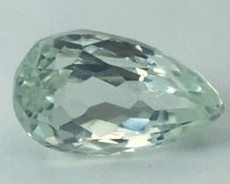 8.60 Ct Green Kunzite Top Quality From Pakistan Gemstone. GKZ 04