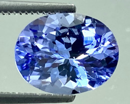 2.15 Ct Tanzanite Excellent Quality Gemstone. TN 002