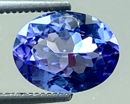 1.55 Ct Tanzanite Excellent Quality Gemstone. TN 003