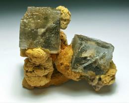 Amazing Natural color Damage free lovely shape Fluorite specimen 205Cts-P
