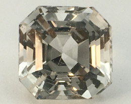 6.80 Ct Natural Topaz Ex Asscher Cut Top Luster From Pakistan. GTP 11