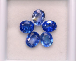 3.75Ct Natural Ceylon Blue Sapphire Oval Cut Lot A947