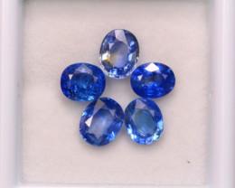 3.75Ct Natural Ceylon Blue Sapphire Oval Cut Lot A947