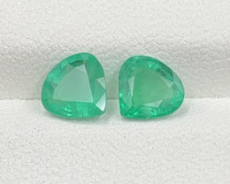 1.56 cts Super Top Quality  Emerald Gemstone