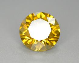 4.10 Carat Natural Fancy Yellow  Diamond Gemstone