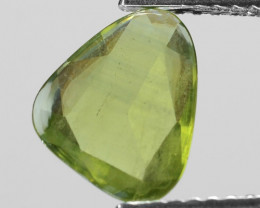 1.24 Cts Amazing Rare Natural Fancy Green Sapphire Loose Gemstone