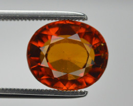 Natural 4.55 Ct Unheated Cinnamon Hessonite Garnet from Ceylon