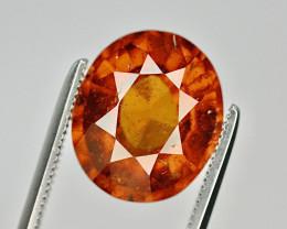 Natural 5.75 Ct Unheated Cinnamon Hessonite Garnet from Ceylon