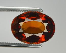 Natural 5.50 Ct Unheated Cinnamon Hessonite Garnet from Ceylon