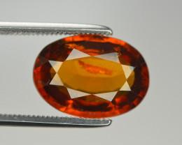 Natural 5.40 Ct Unheated Cinnamon Hessonite Garnet from Ceylon SKU 56