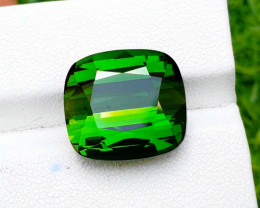Tourmaline, 16.90 Carat Green Color Natural Tourmaline Gemstone