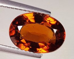 4.83 ct Excellent Gem Oval Cut Top Luster Hessonite Garnet