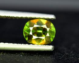 Sphene Titanite, 1.30 CT Natural Full Fire Sphene Titanite Gemstone