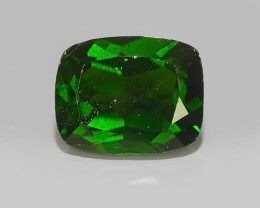 2.50 CTS NATURAL ULTRA RARE CHROME GREEN DIOPSIDE  RUSSIA NR!!