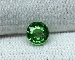 0.73 Ct Natural Tsavorite Gemstone