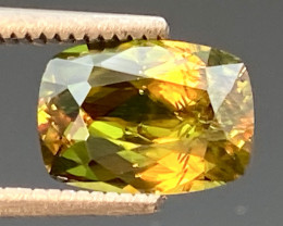 Green Chrome Sphene Dramatic Fire AAA Quality From Pakistan.GSN 04