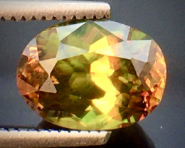 Green Chrome Sphene Sparkiling Luster AAA Quality From Pakistan.GSN 05