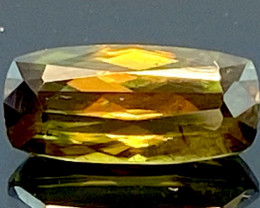 Green Chrome Sphene Dramatic Fire AAA Quality From Pakistan.GSN 11