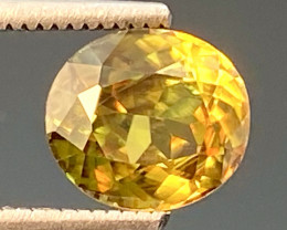 Green Chrome Sphene Dramatic Fire AAA Quality From Pakistan.GSN 13