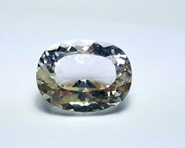 6.9 Stunning Eye-clean Brilliant Cut Quartz 6.9Cts - Pakistan