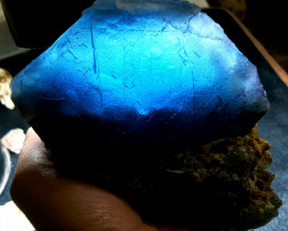 Amazing Natural color Damage free Huge Fluorite cluster Specimen 6895Cts-P