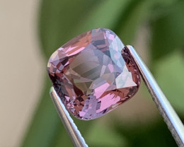 3.38 Cts AAA Grade Burma Purplish Pink Spinel Unheated/Untreated