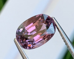 3.80 Cts Brilliant Lavender Fine Quality Burma Spinel Unheated/Untreated