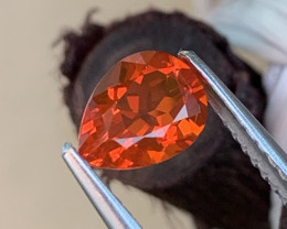 Amazing Fire Fanta Color Natural Mexican Fire Opal 0.73 Cts
