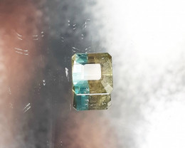 5.42cts Natrual Bi Colour  Tourmaline Gemstones