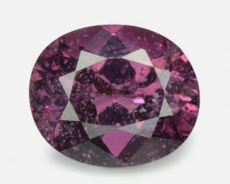 1.06 Cts Un Heated Very Rare Purple Color Natural Spinel Gemstone