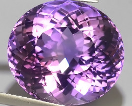 27.49 CTS MAGNIFICENT NATURAL PURPLE-VIOLET AMETHYST NICE OVAL~CUT